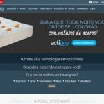 Euro Colchões projeto e-commerce 2017