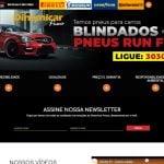 Site da Dinamicar Pneus, versão 2017